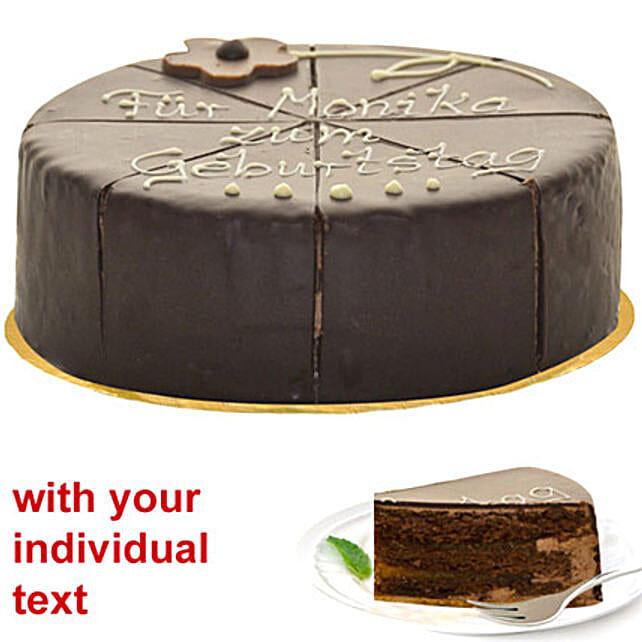 Wonder Sacher Cake