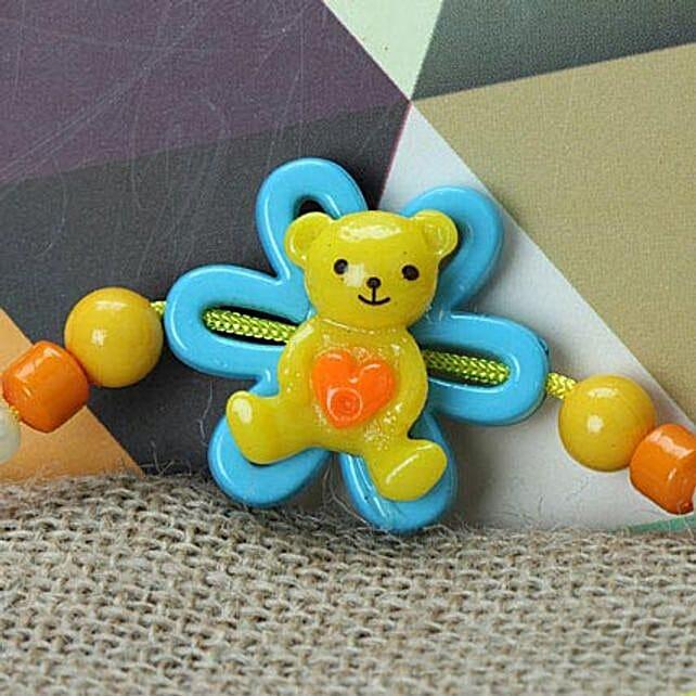 Cute Little Teddy Rakhi GRE