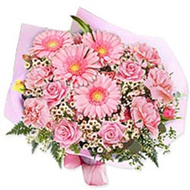In the pink bouquet gaum