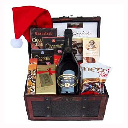 Ravishing Success Christmas Gift Basket
