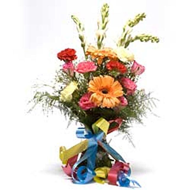 Bunch of seasonal flowers INDO