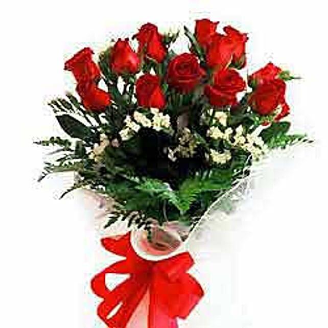 12 rose bouquet JAP