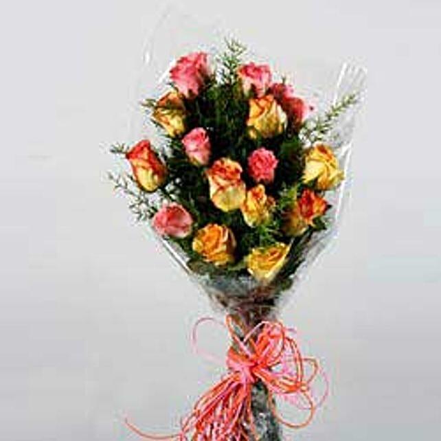 Seasonal Arrangement with Roses JAP