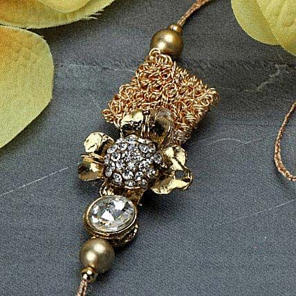 Delightful Antique Rakhi KOR
