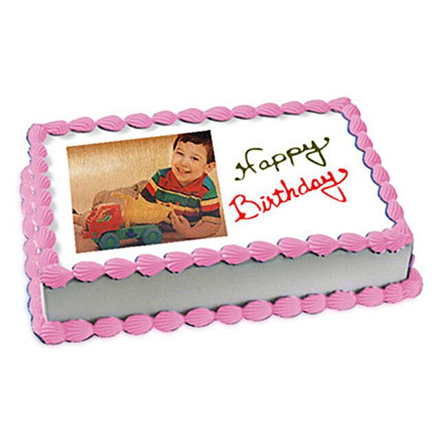 2kg Photo Cake Butterscotch by FNP