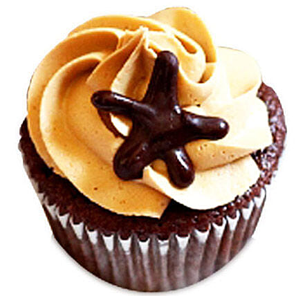 6 Moroccan Coffee Delight Cupcakes by FNP
