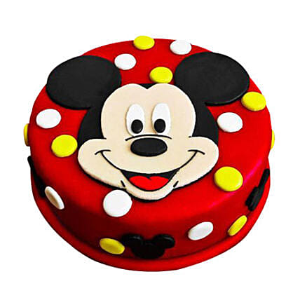 Small Round Minnie Mouse Cake