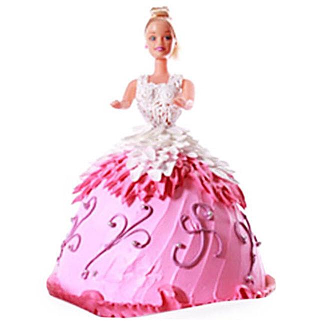 Baby Doll Cake 4kg Vanilla Eggless