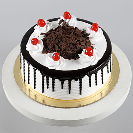 Blackforest Cake 1kg Eggless