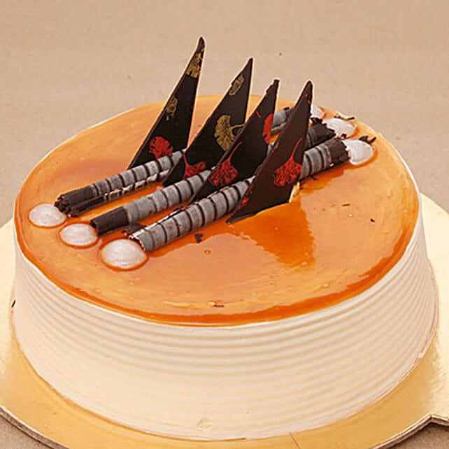 Blonde Caramel Cake 2KG Eggless