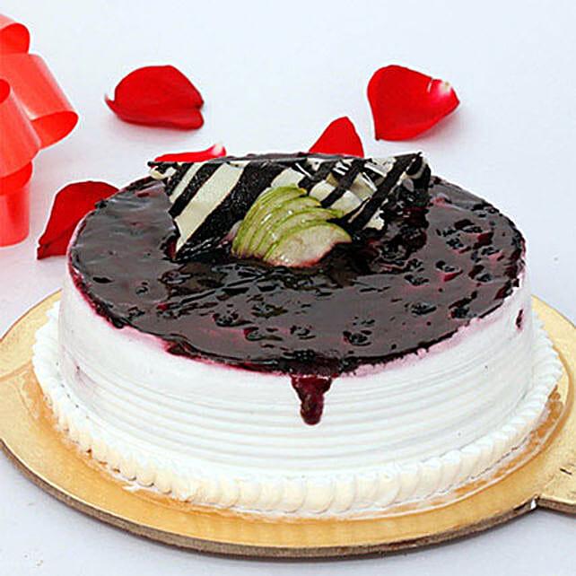 Blueberry Extravaganza Cake Half KG