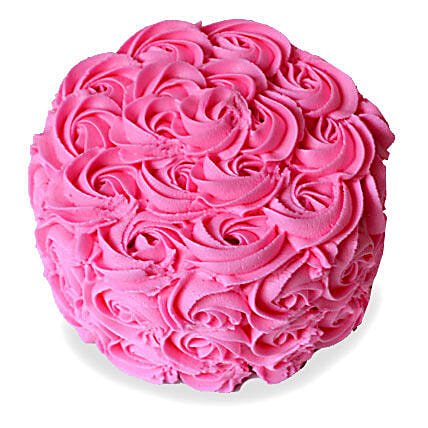 Brimming With Roses Cake 3kg Eggless Vanilla