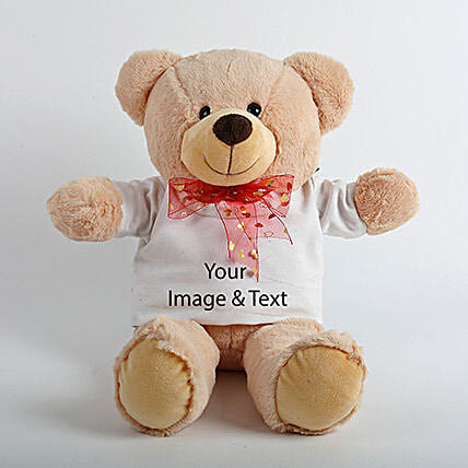 Brown Personalized Teddy