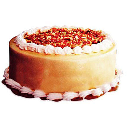 Butter Scotch Delight Cake Half kg Eggless