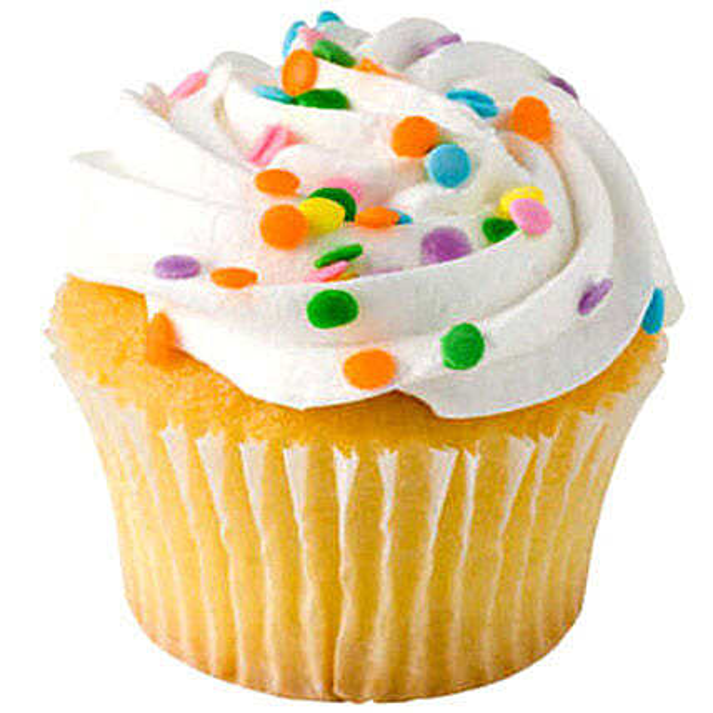 Cheerful Cupcakes 6 Eggless