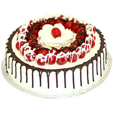 Cherry Blackforest Cake - Five Star Bakery 1kg Eggless