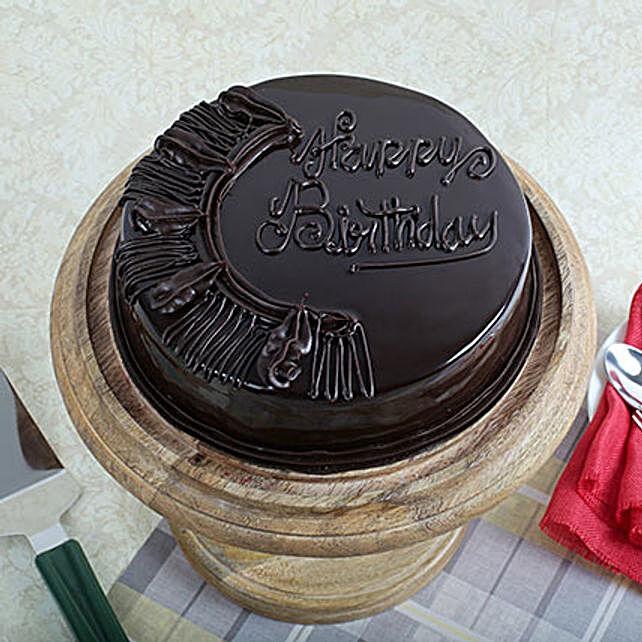 Choco Celebration Cake 1kg Eggless