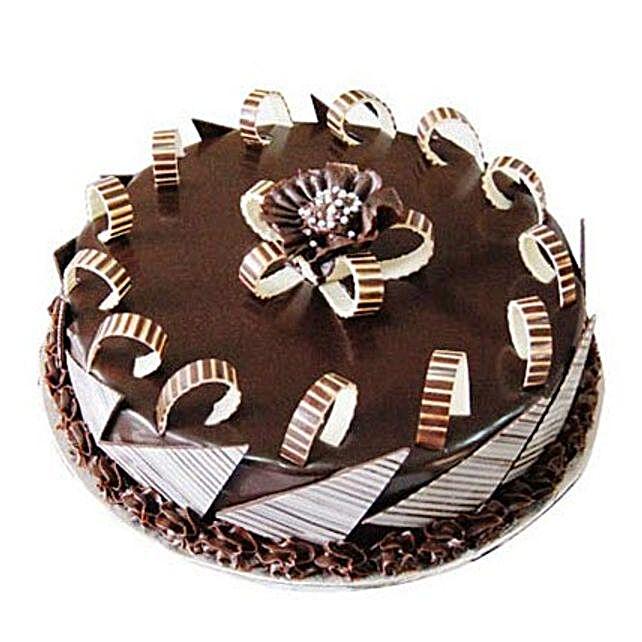 Chocolate Galore Cake Half kg Eggless