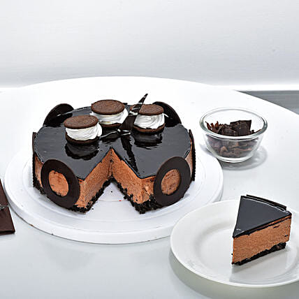 Chocolate Oreo Mousse Cake 1kg Eggless