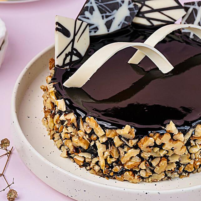 Chocolate Walnut Truffle Half kg Eggless