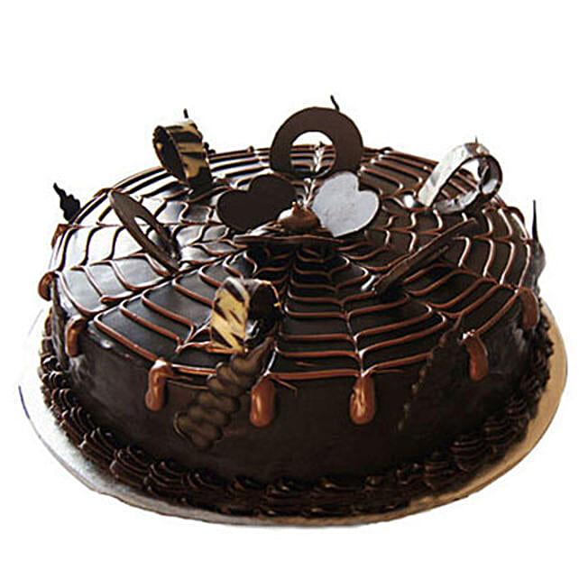 Chocolatey Drops of Pride Cake 1kg Eggless
