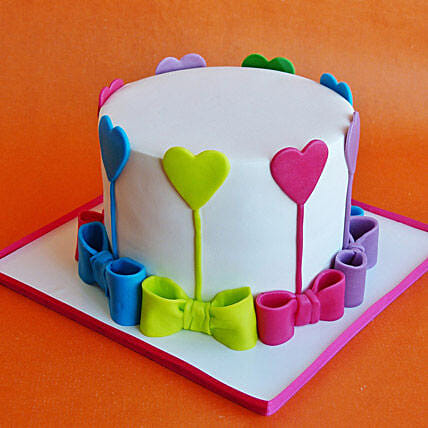 Colors Of Love Cake 1kg Vanilla
