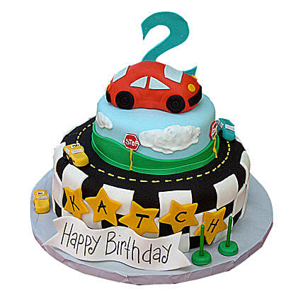 Coolest Car Cake 5kg Eggless