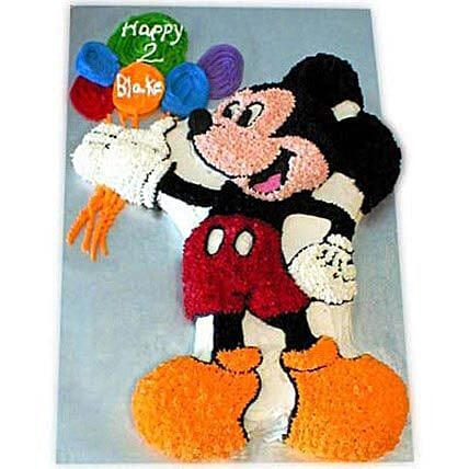 Creamy MM with Balloons 4kg Eggless Butterscotch