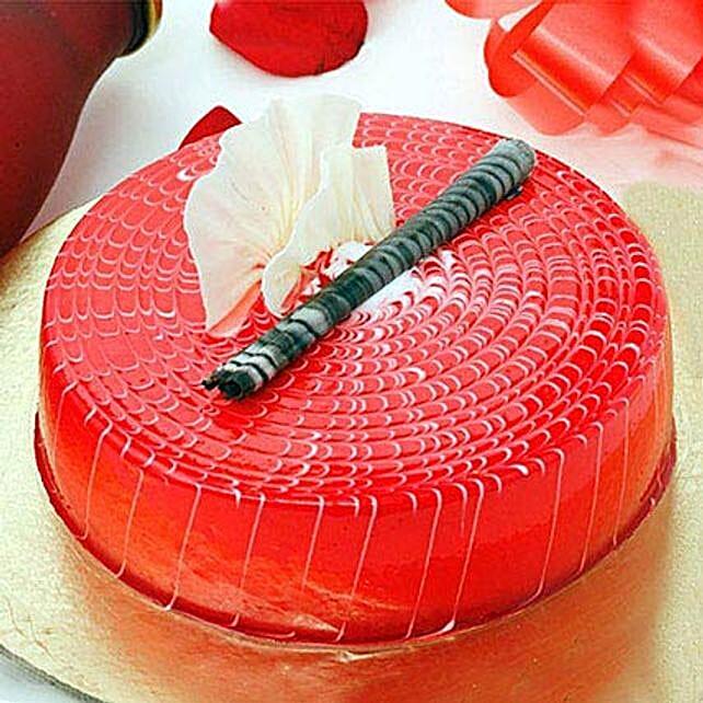 Crimson Love Cake Half KG