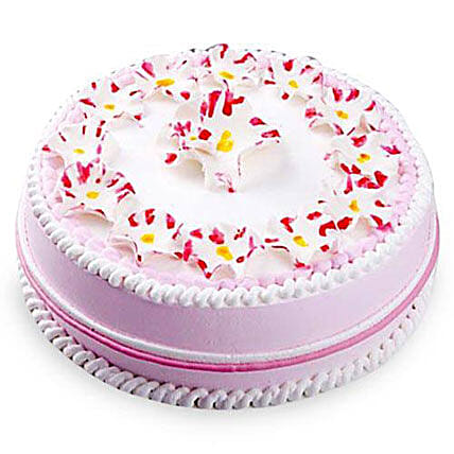 Daisy Christening Cake 1kg Eggless