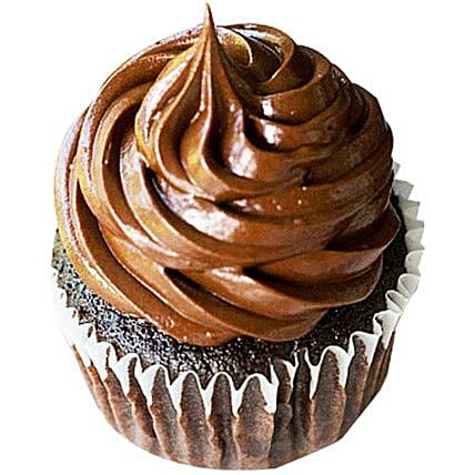 Death By Chocolate Cupcakes 6 Eggless