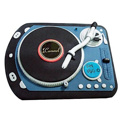 DJ Spin That Cake 4kg Eggless Chocolate