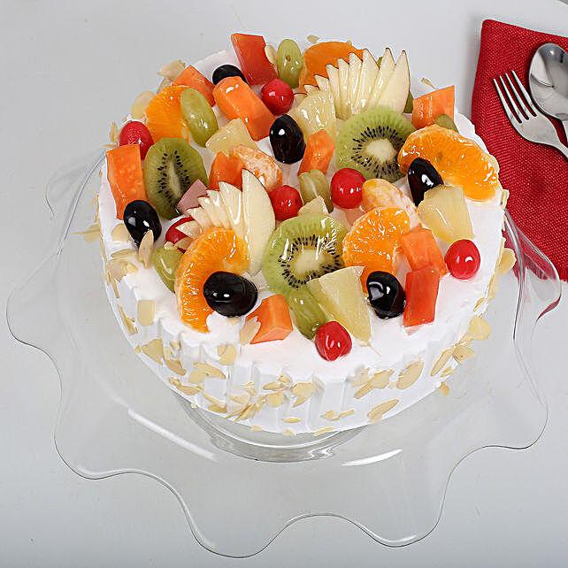 Effervescent Fruit Cake Half KG