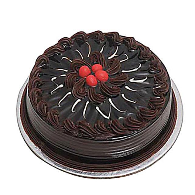 Eggless Chocolate Truffle Cake 2kg by FNP