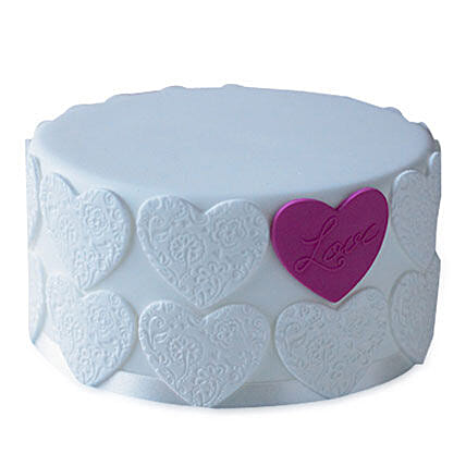 Elegant Love Cake 4kg Chocolate