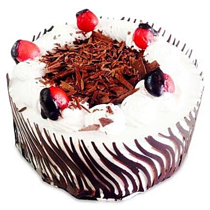 Exotic Blackforest Cake Half kg Eggless