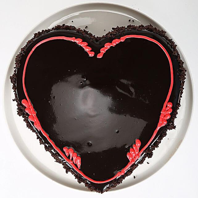 Fabulous Heart Cake 2kg Eggless