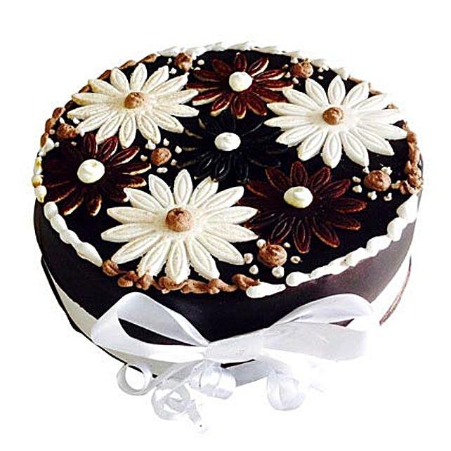 Floral Cake 3kg Eggless