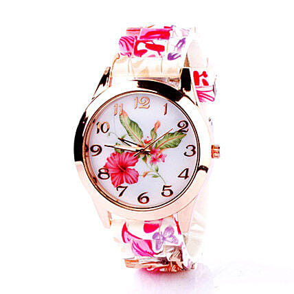 Birthday gifts for girlfriend romantic birthday gift ideas ferns floral silicone watch for women birthday gifts for girlfriend negle Choice Image