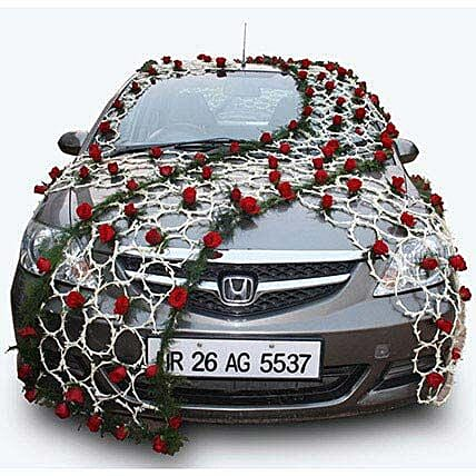Send car decoration items buy car decoration items online flower bed car decor junglespirit Image collections