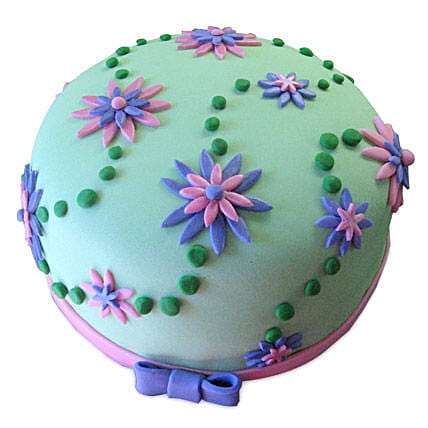Flower Garden Cake 3kg Eggless Chocolate