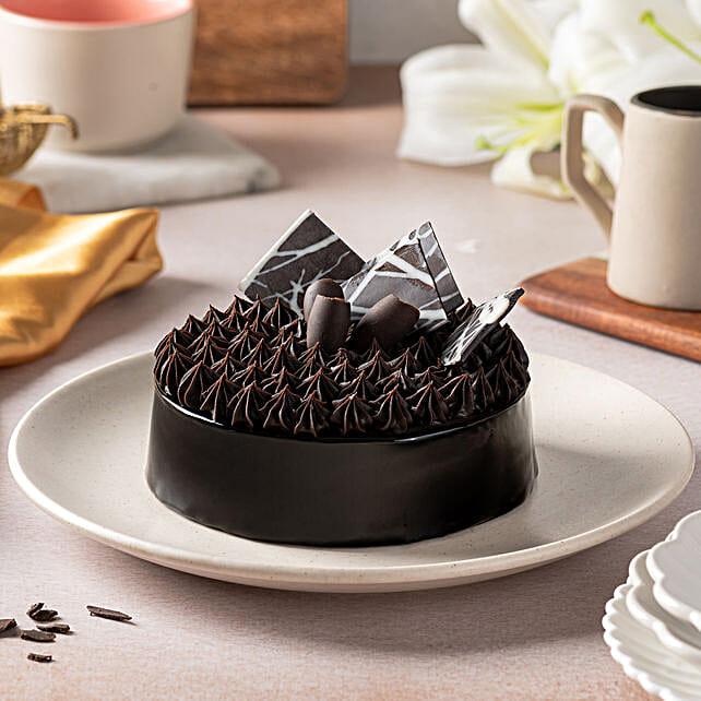 Fudge Brownie Cake 1kg Eggless