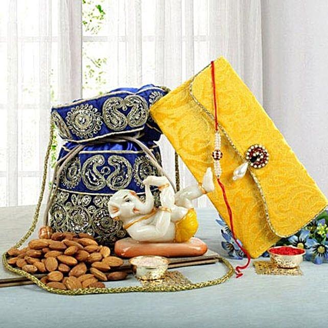 Ganesha N Dry Fruits Combo