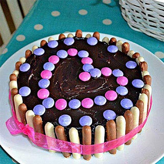 Heartful Delight Cake 3kg Eggless
