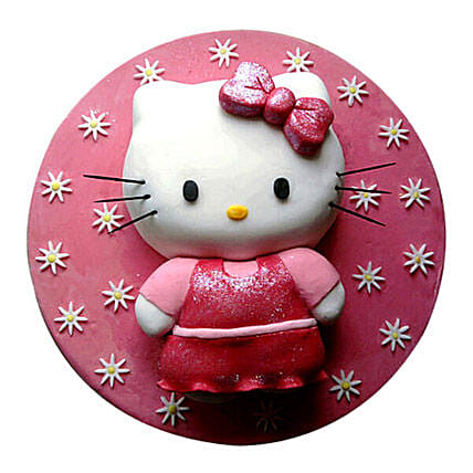 Hello Kitty Cake 3kg Vanilla Eggless