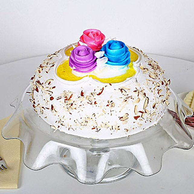 Italian Almond Cake 3kg Eggless
