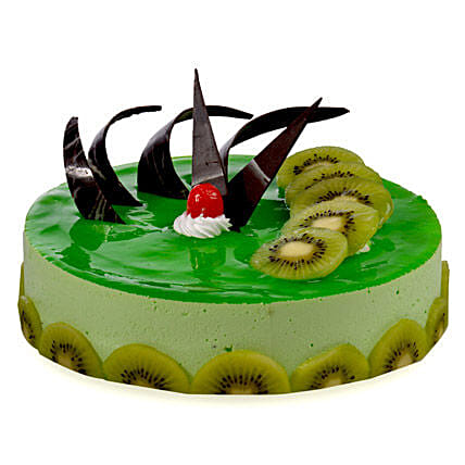 Kiwi Cheese Cake 1kg Eggless