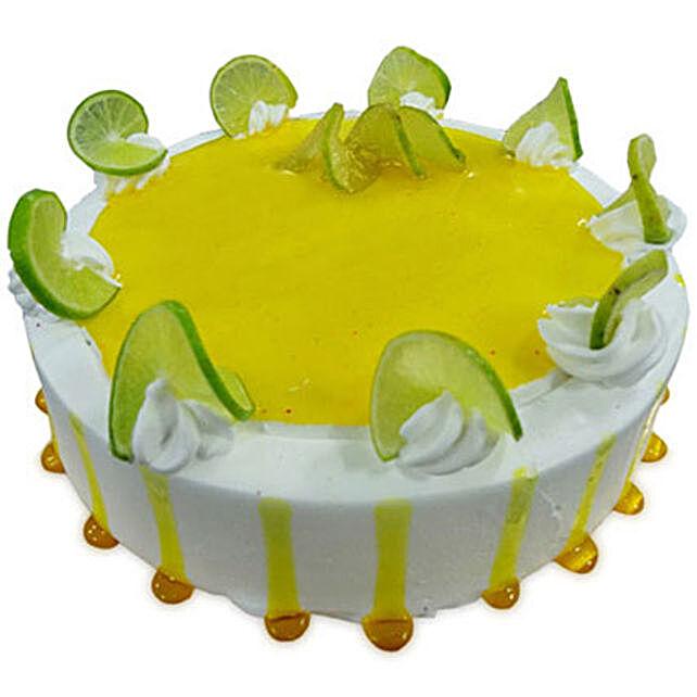 Lemony Lemon Cake 2kg Eggless