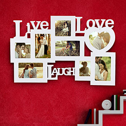 Live Laugh Love Frame Valentine | Gift Live Laugh Love Frame ...