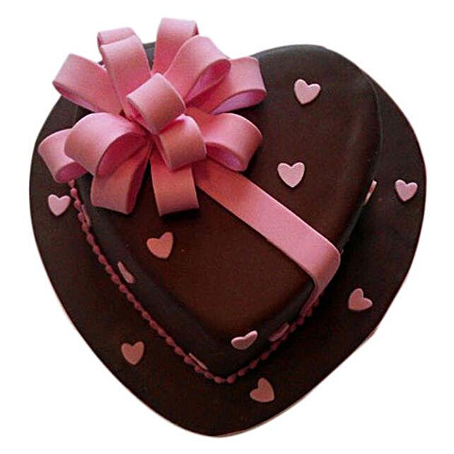Love Flower Cake 2kg Eggless